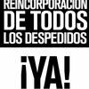 Logo Despedidos en el INTI @intidespedidos x @fmlatribu