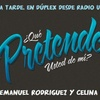 Logo QUE PRETENDE USTED DE MI - RADIO NEF EN DUPLEX CON RADIO UNIV DE CORDOBA