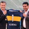 Logo Misiones/Macri preocupado. Por Boca Juniors.