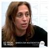 Logo Maria Eva Koutsovitis, ingeniera, con Daniel Cholakian en Lo Peor Ya Paso.