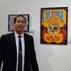 Logo Entrevista a Roberto Brandán artista varelense especialista es fileteado porteño.