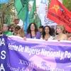 Logo 34 Encuentro Nacional de Mujeres hablan las compañeras de sin Pinzas Sin ceras