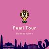 Logo Mariana Carbajal hablando del FemiTour en La Inmensa Minoría, Radio Con Vos