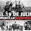 Logo A 40 años de la Revolución SANDINISTA -  Recordala con históricas canciones de toda Latinoamérica