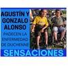 Logo #SensacionPersonal con Agustin Alonso sobre el Sindrome de Duchenne