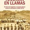 """Logo  libro """"Tucumán en llamas. El cierre de ingenios y la lucha obrera contra la dictadura (1966-1973)"""""""