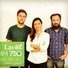 Logo AM750 Las Cuarenta con Felicitas Bonavitta - Sábado 19-06