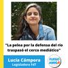 Logo Entrevista a Lucía Cámpora en Fuego Amigo - 20 de Marzo del 2021