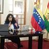 Logo Isabel Rauber entrevistó a Cris González Embajadora de Venezuela expulsada por el golpe en Bolivia
