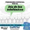 Logo Programa especial por el día de lxs telefónicxs