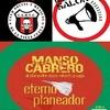 """Logo MANSO CABRERO EN """"Club Social y Musical de La Vieja Cuela"""" en Radio De Salón 270918"""