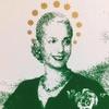 Logo Con Soledad Guarnaccia del Comando Evita, Evita el macrismo