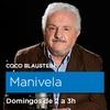 Logo Peligra Manivela, el programa sobre cine del Coco Blaustein, después de 15 años en Radio Nacional...