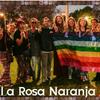 Logo LA ROSA NARANJA en Latitud Gay