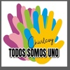 """Logo Gerardo Garófalo TODOS SOMOS UNO CHIVILCOY """"ACÁ CONVIVEN TODOS LOS SECTORES"""""""