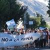 """Logo Roberto Arquita: """"Una vez q se instala una minera, en la provincia, sabemos que vienen otras"""""""