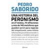 """Logo P. Saborido """"uno puede relajarse y quedarse tranquilo que el Peronismo no lo atacará desde el libro"""""""
