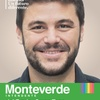 Logo Juan Monteverde sobre el cierre de listas
