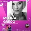 Logo Programa Los Mañaneros. AM 680 Columna Melina Greco