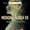 """Logo Medicina música es """"Medicinas complementarias en el centro Padma"""""""