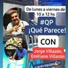 """Logo Avance programa """"Qué Parece"""" por FM La Cigarra 96.7 Salta"""