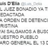 Logo Editorial 7.0  @Luis_Delia  denuncia que el Juez Bonadio ya tiene redactado la detención de CFK