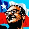 Logo Ana Luna, recordando a Salvador Allende
