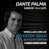 """Logo Editorial de Dante Palma en No estoy solo: """"Pasado, presente y futuro de una pared"""" (10/4/21)"""