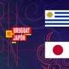 Logo M.Kesman,Uruguay vs Japon,sub 20,24/5/17
