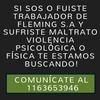 Logo LA FORTALEZA DE EVAS   VIOLENCIA DE LABORAL   BUSCAMOS A LOS TRABAJADORES MALTRATADOS EN FLEMING S.A