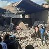 Logo Terremoto en Haití/Entrevista a Oscar Martínez