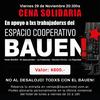 Logo Victor Hugo solidario con lxs trabajadorxs del Bauen