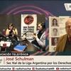 Logo Entrevista a José Schulman @JosSchulman Sec Nal de la Liga Argentina por los Derechos del Hombre