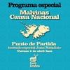 Logo Malvinas, Causa Nacional | Primera parte