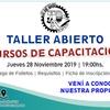 Logo Se acerca la muestra anual del Centro de capacitación laboral San José Obrero