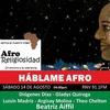Logo #Escucha Háblame AFRO. Afroreligiosidad. 14-08-2021