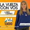 """Logo Víctor Bugge en """"La Vuelta con Vos"""""""