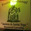 Logo GABRIEL PUERTAS Presidente Comisión Nac. de Festejos de la Fiesta Santos Vega en General Lavalle