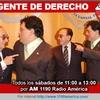 Logo 09/05/2015 1°Hora: Fayt rompió el silencio y habló con Jorge RIzzo en Gente de Derecho.