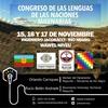 Logo Congreso de las lenguas de las naciones milenarias