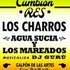 Logo #CumbiónRES El próximo viernes se presentan LosCharros y AguaSucia