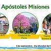 Logo Informe Avelina Vizcaychipi.  Directora Turismo Apóstoles (Misiones)