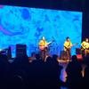 """Logo """"Libertad"""" de Amel en vivo en La Cúpula del CCK por Nacional Rock 93.7"""