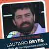 """Logo Reyes en Cazadores; """"Hay un desafío de organizar la juventud para disputar espacios de poder"""""""