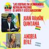 Logo Rebelde Amanecer Programa Nº 13: Entrevista a Juan Ramón Quintana y Andrea Reile