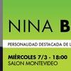 Logo Charla con Nina Brugo - Abogada laboralista, feministra, candidata a diputada por Camino Popular