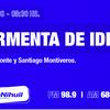 Logo Tormenta de Ideas 12 de junio de 2021 con Martín Caparrós