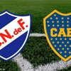 Logo Nacional vs Boca Juniors ,29/7/17