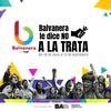 "Logo ""56 dias contra la trata"" Diego Arbit del Centro Cultural Panda Rojo"