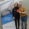 Logo Maria Laura Antonelli entrevistada por Boris en Nacional Clásica por su nueva obra Infernadero ..